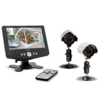 CFI-EXTEL FRANCE - Kit vidéosurveillance EXTEL OFIL couleur 2 caméras extérieures IP64 59567705