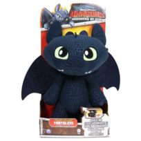 Dragons - Figurine Animation Peluche Krokmou Deluxe