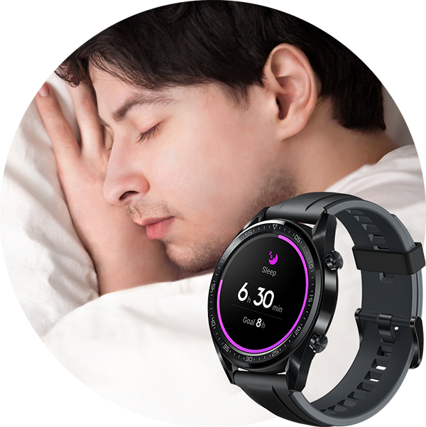 huawei watch gt noire pas cher achat vente montre connect e rueducommerce. Black Bedroom Furniture Sets. Home Design Ideas