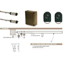 Somfy - Motorisation à vis Ixengo L Rts grand portail battant Pack Standard 230V