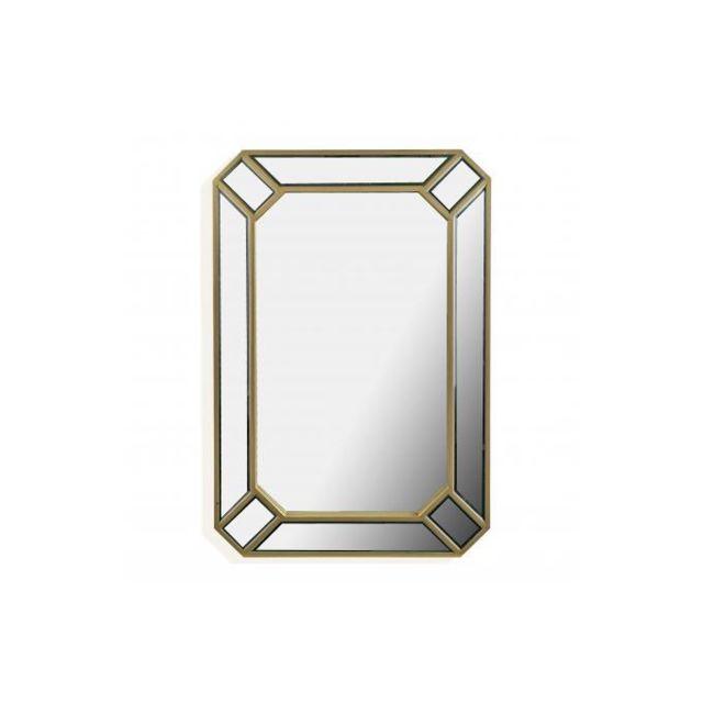 Versa Miroir Rectangulaire Cadre en Métal Doré Venus