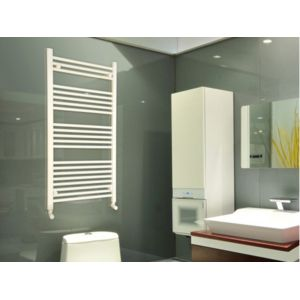 vente unique radiateur s che serviettes eau chaude emino blanc 115 60 cm pas cher achat. Black Bedroom Furniture Sets. Home Design Ideas