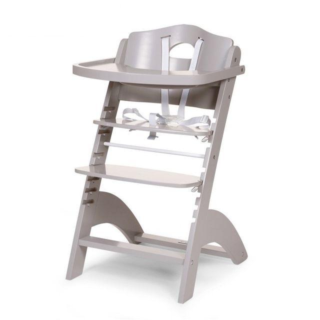 Lambda Bébé Stone Haute Childwood Evolutive Chaise Grey E9H2IDW