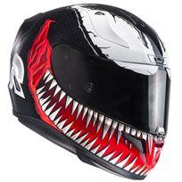 Hjc - casque moto intégral Fibre Rpha 11 Racing Marvel Venom Mc-1 Xl