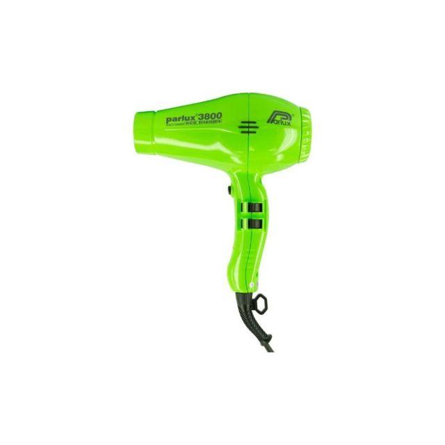 Seche cheveux 3800 Ionic Eco Friendly Debit Dair 75 M3h 2100 W Vert
