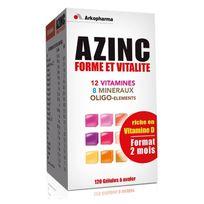 Arkopharma - Azinc Forme & Vitalité 120 gélules