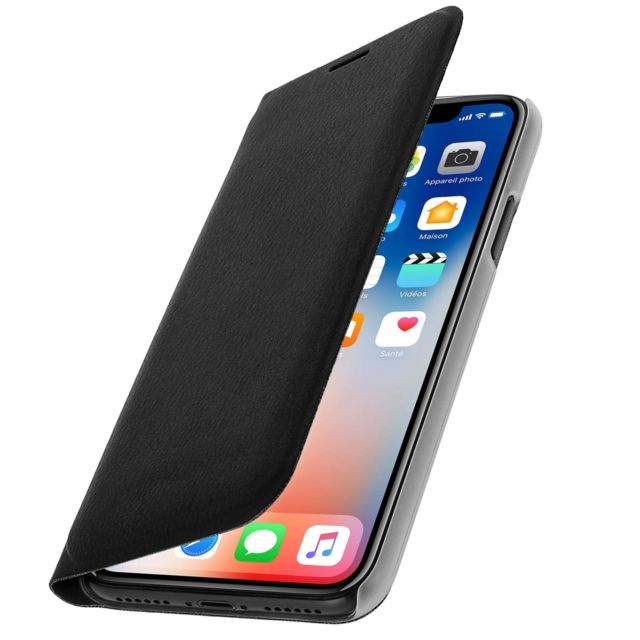 iphone x coque flip