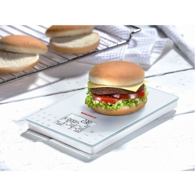 soehnle balance lectronique food control pas cher achat vente balance de cuisine. Black Bedroom Furniture Sets. Home Design Ideas