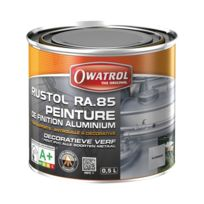 Owatrol - Peinture de finition aluminium - Ra 85 - 0.5 L
