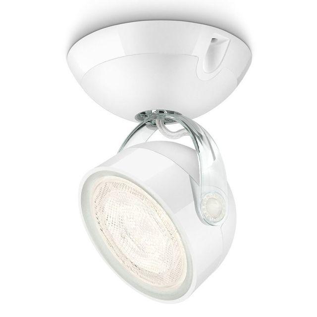 Philips Spot Led orientable diamètre 9.6cm Dyna - Blanc