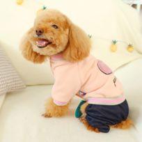 GÉNÉRIQUE Vêtements pour animaux domestiques Vêtements