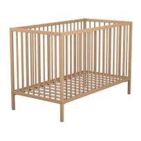 AT4 - Lit bois à barreaux 60x120 cm