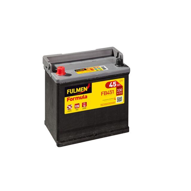 fulmen batterie formula fb451 pas cher achat vente batteries rueducommerce. Black Bedroom Furniture Sets. Home Design Ideas