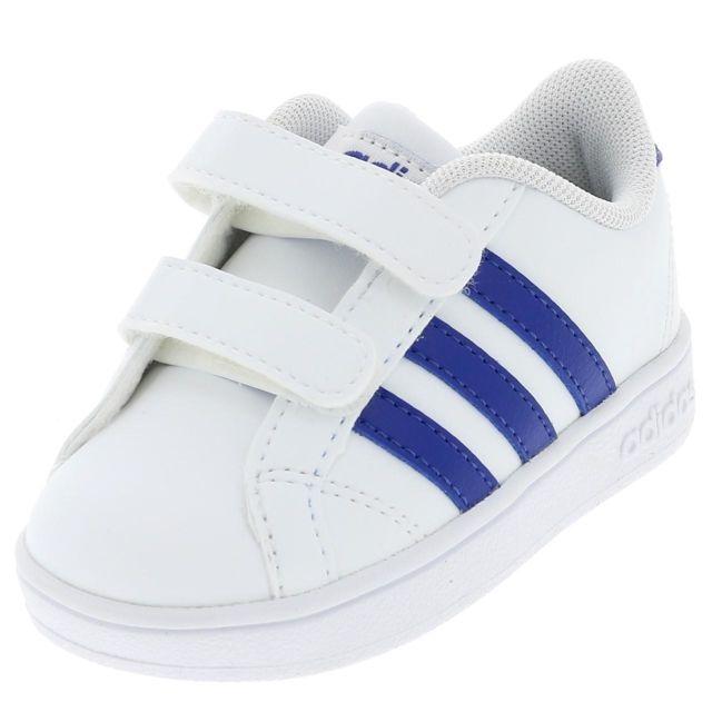 Adidas Chaussures mode ville Baseline cmf inf blc bleu