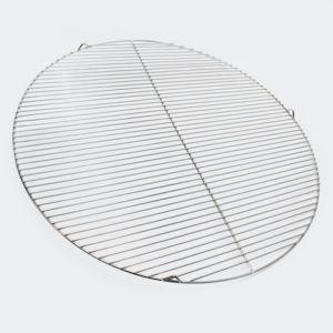aqua occaz grille de barbecue ronde en inox diam tre. Black Bedroom Furniture Sets. Home Design Ideas