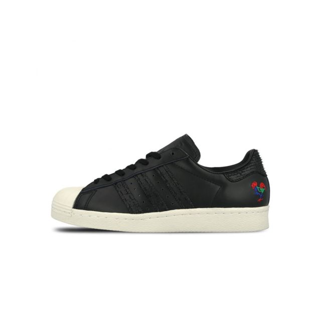 Adidas - Superstar 80s Cny - Ba7778 - Age - Adulte, Couleur - Noir,