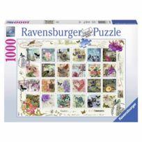 Ravensburger - Puzzle 1000 pièces : Timbres d'antan