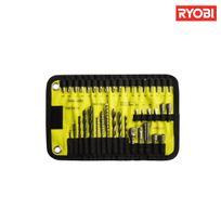 Ryobi - Trousse textile 40 accessoires de perçage métal - bois - béton Rak40RM