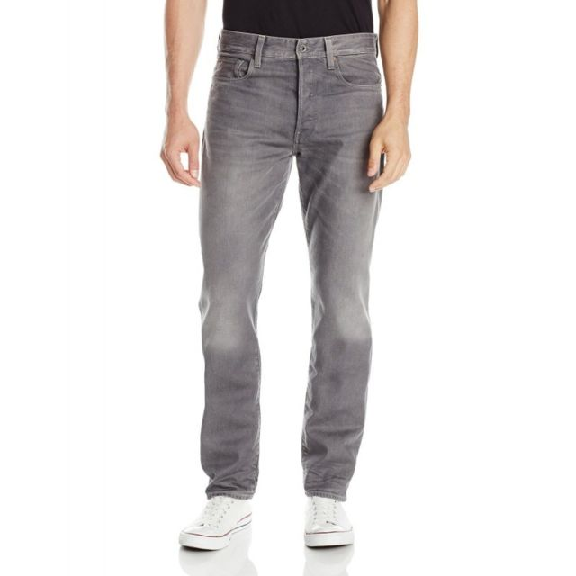 Jeans G Star 3301 Tapered Dust Denim Light Aged