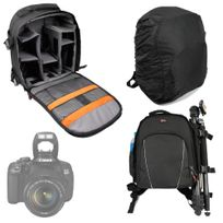 Duragadget - Sac à dos noir pour la gamme Canon Eos D