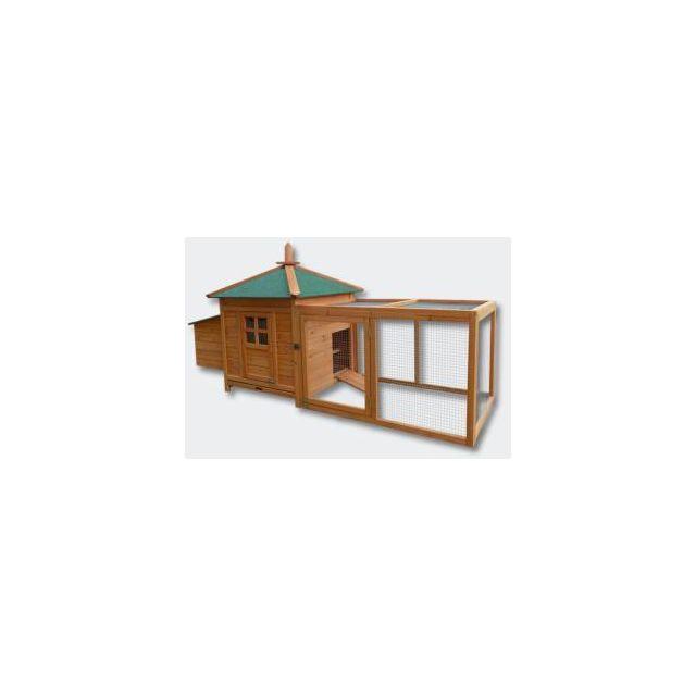Bigb Poulailler / Clapier / Cage pour poule ou lapin en bois
