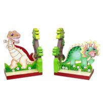 FANTASY FIELDS - Ensembles de serre-livres pour enfants fabriqués à la main par Dinosaur Kingdom 2 pièces