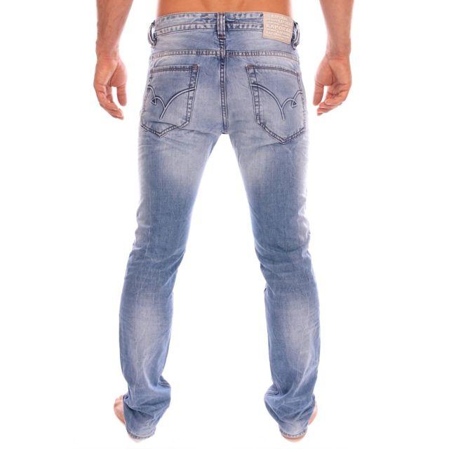 Kaporal 5 Kaporal Homme Jeans Broz Fripe bleu clair
