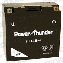 Power Thunder - Batterie Yt14B-4 Gel