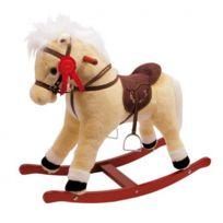meinLiLaLu & Co. - Cheval porteur à bascule avec mouvements et bruitage