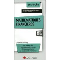Gualino - mathématiques financières édition 2017/2018