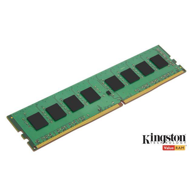 KINGSTON 16 Go 2400 MHz DDR4 Non-ECC CL17 DIMM Mémoire Ram DDR4 PC4- 19200 KVR21S15S8/8