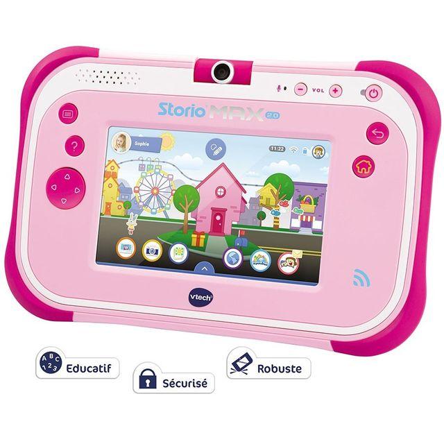 VTECH Tablette Storio Max 2.0 5'' - Rose - 108855