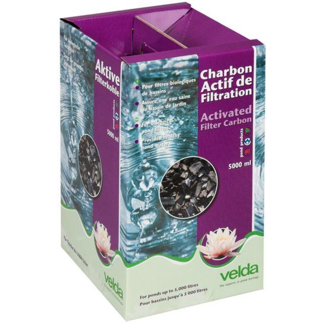 Velda Charbon actif de filtration