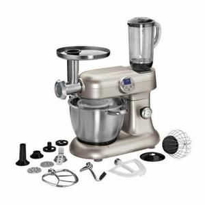 Harper - Robot pétrin chauffant - Kitchencook Revolution V2 Silver Argent