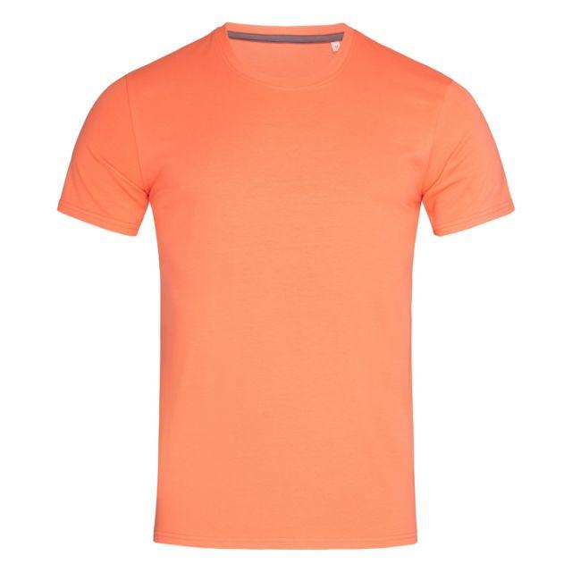 STEDMAN T-shirt - Homme 2XL, Saumon Utab384