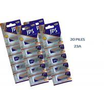 Jps - 20 Piles 23A A23 Lr23 Lrv08 Gp23A Mn21 12V Ultra Longue Duree