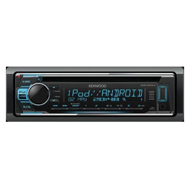 Kenwood Autoradio Mp3 Kdc-210UI
