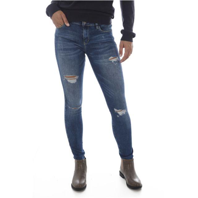 Stretch Sexy Jeans Skinny W83aj1 Les Curve Bleus Jean Guess KT3uFc5Jl1