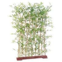Artificielflower - Haie artificielle Bambou Japanese Plastique Uv - intérieur extérieur - H.150cm vert - taille : 150 cm