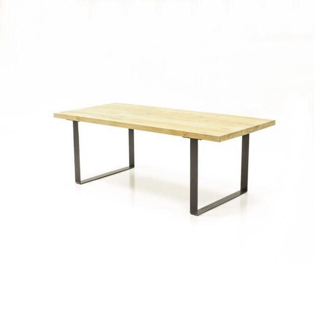 Meubletmoi Table à diner 180 cm chêne - Fabrik