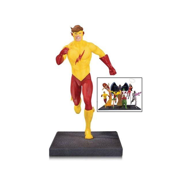 Dc Collectibles Teen Titans - Statuette Kid Flash partie 5 sur 7, 16 cm