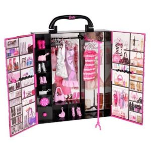 barbie accessoire pour poup e fashionistas dressing de r ve pas cher achat vente poup es. Black Bedroom Furniture Sets. Home Design Ideas
