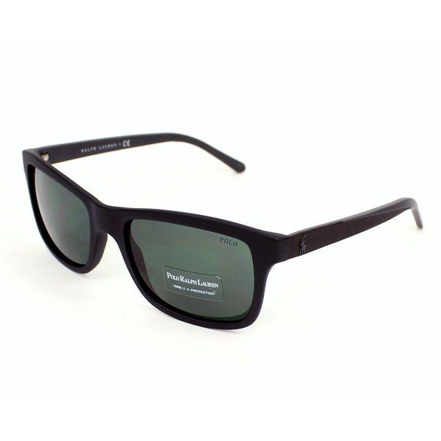 Polo Ralph Lauren - Ph4095 5523 71 Noir mat - Lunettes de soleil - pas cher  Achat   Vente Lunettes Tendance - RueDuCommerce 7cd081be772d