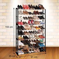 Rangement achat rangement pas cher rue du commerce for Meuble a chaussure carrefour