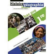 Nathan - histoire-géographie ; 1ère bac pro ; manuel de l'élève édition 2010