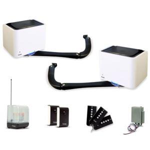 extel kit motorisation bora pour portail battant 4m pas cher achat vente motorisation de. Black Bedroom Furniture Sets. Home Design Ideas