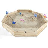 Plum - Bac à sable giant avec 4 bancs intégrés