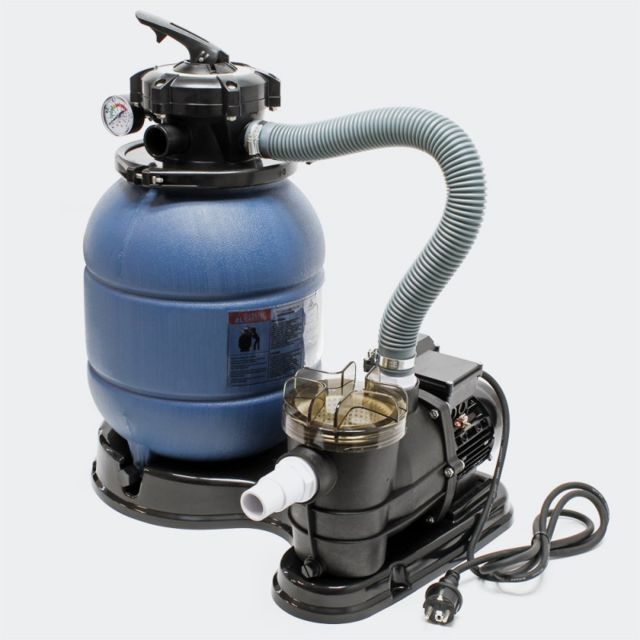 Aqua occaz filtre sable avec pompe pour piscine hors sol 21 kg de sable de filtration pas - Filtration sable piscine hors sol ...