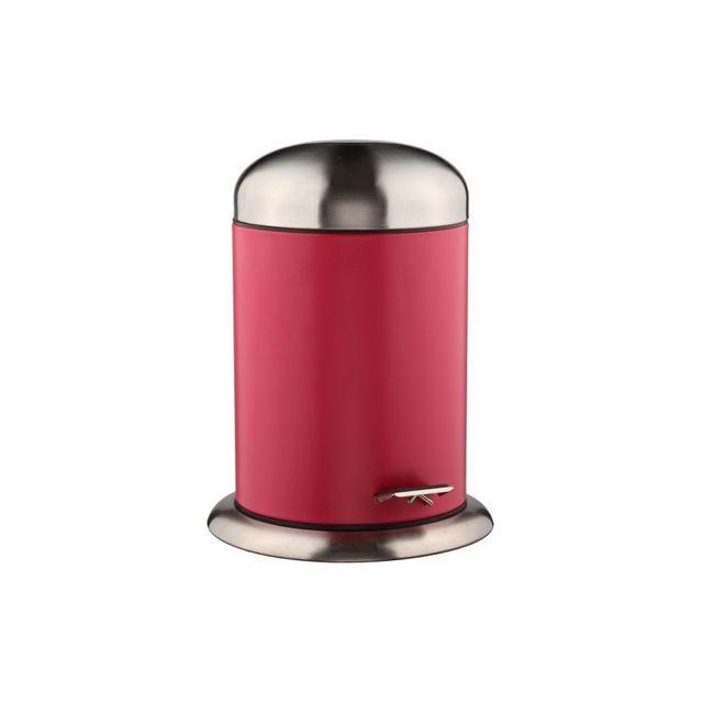 Jja Poubelle 5 litres Rouge