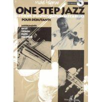 Lemoine - Pellegrino Michel - One Step Jazz + Cd - Violon Ou Flute Ou Hautbois